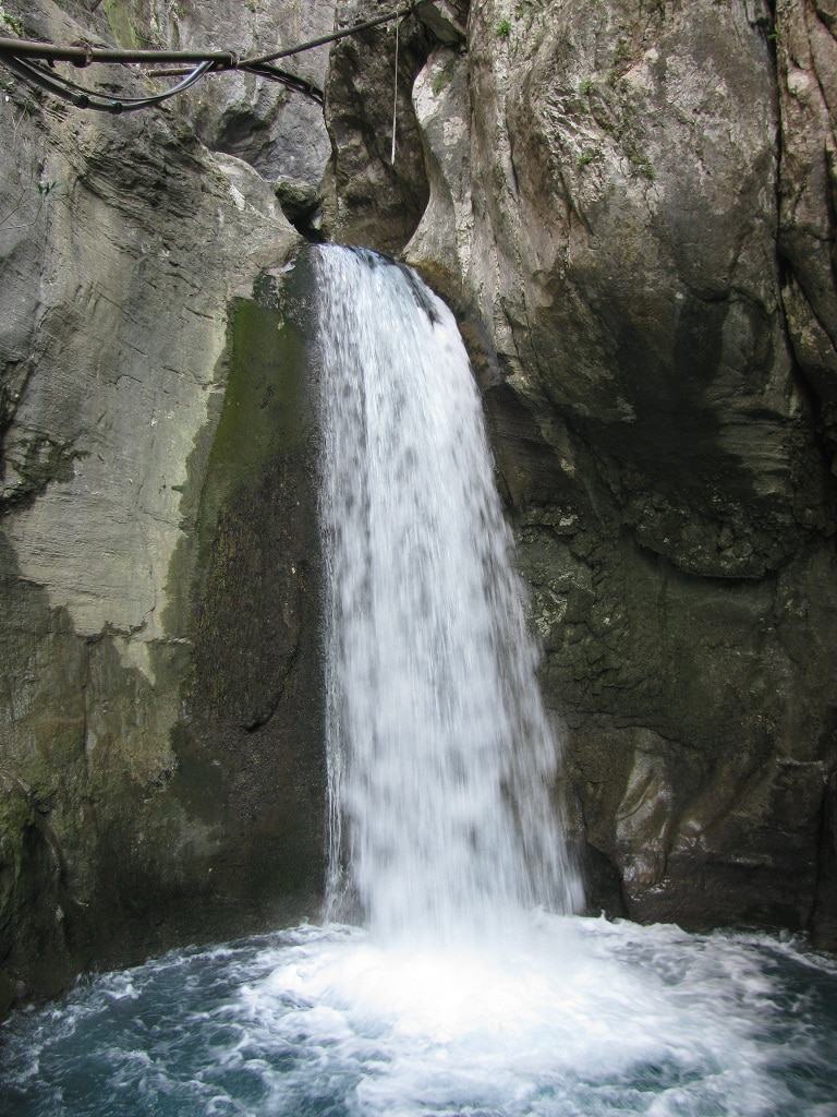 Grosser Wasserfall im Sapadere Canyon