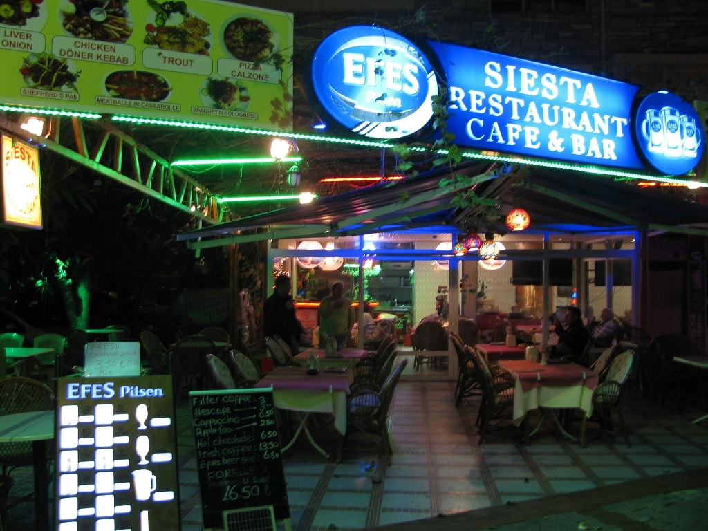 Restaurant Siesta in Alanya