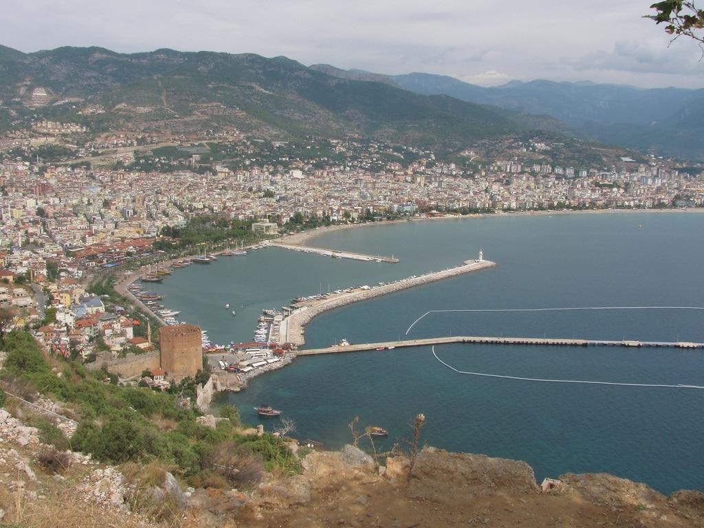 Alanya mit Hafen